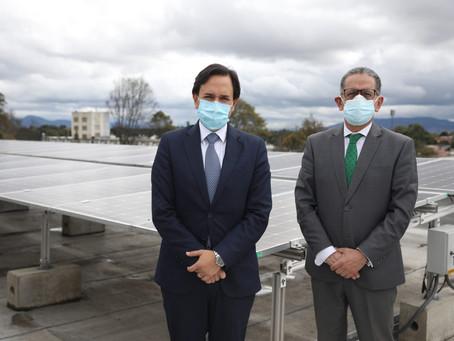 Encuentro bilateral entre Ministros de Energía de Ecuador y Colombia abre espacios de cooperación