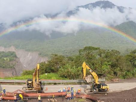 EP Petroecuador construye dos variantes adicionales del SOTE debido a la erosión de San Rafael