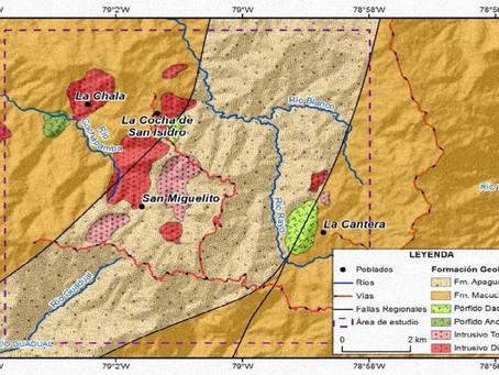 Sigchos-Cotopaxi: Nuevos indicios de un pórfido Cobre-Molibdeno-Oro