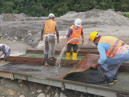 IIGE realiza estudios sobre minería aluvial en la provinciade Zamora Chinchipe