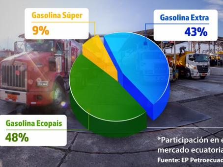 Más de 1.258 millones de galones de gasolinas fueron despachados por EP Petroecuador