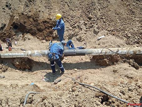 EP Petroecuador inició con los trabajos del reemplazo definitivo de la tubería del Poliducto.