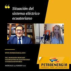 ENT ING HERNANDO MERCHAN VICE ELECTRICID