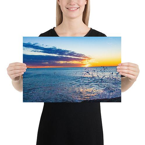 Sea-Splash Sunrise