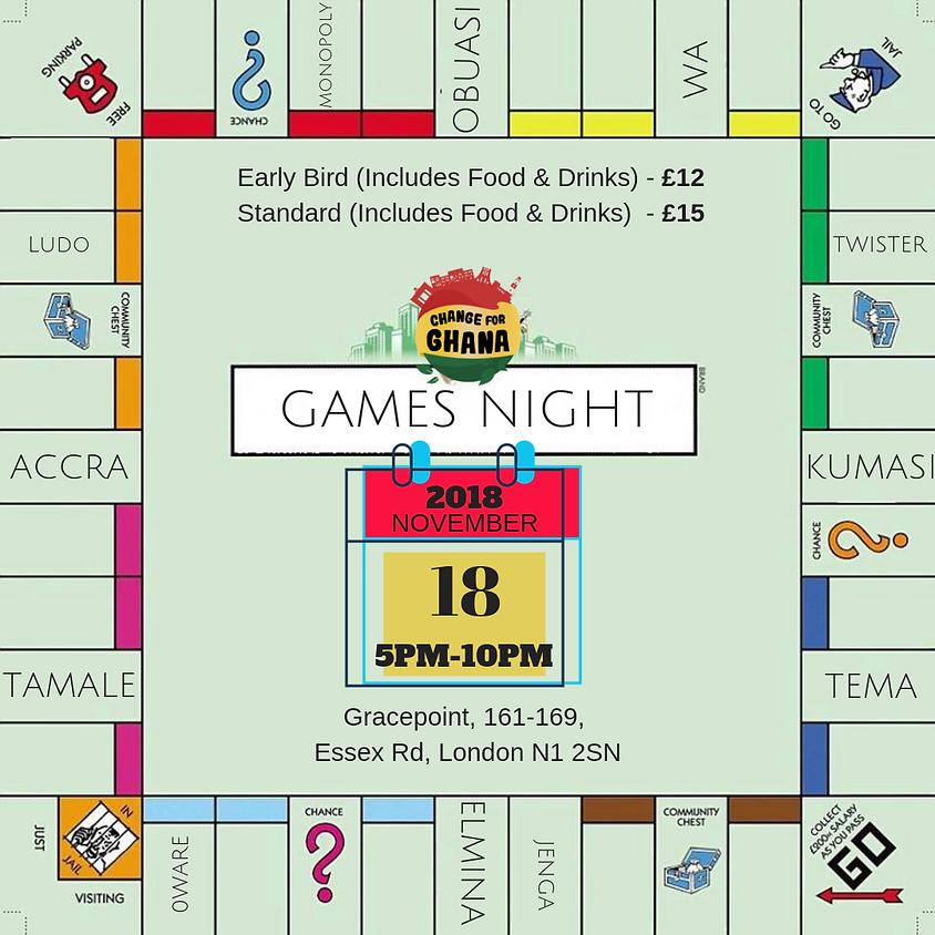 C4G PRESENTS GAMES NIGHT