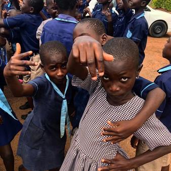 Children at DemoDeaf