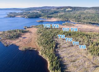 Ved innfallsporten til Blåfjella-Skjækerfjella nasjonalpark