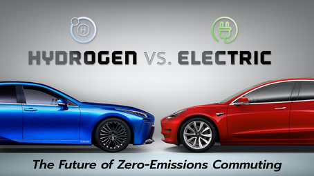 The Future of Zero-Emissions Commuting: Hydrogen vs Electric Cars
