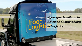 Hydrogen Solutions to Advance Sustainability in Logistics