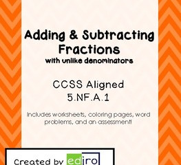 Fractions in Fifth Grade