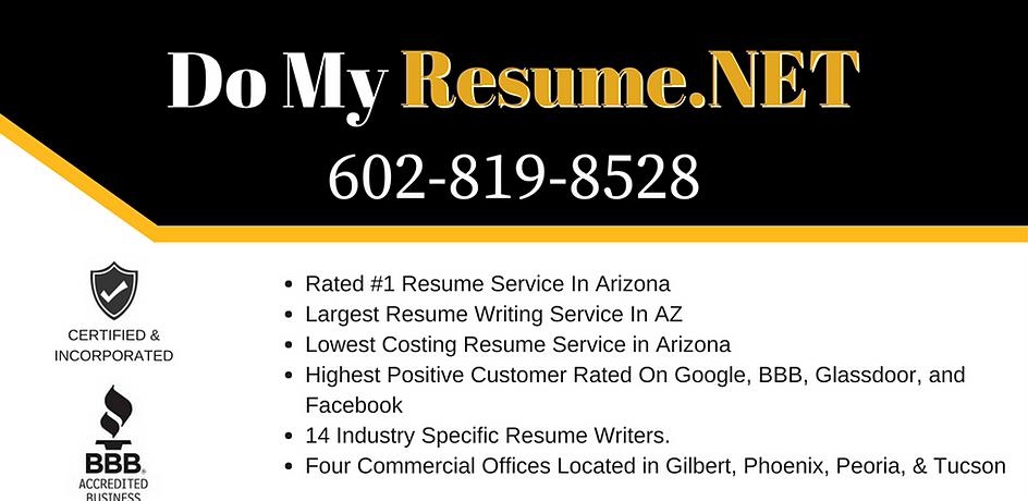 Ranked #1 Resume Writing Service In Arizona | Do My Resume.Net