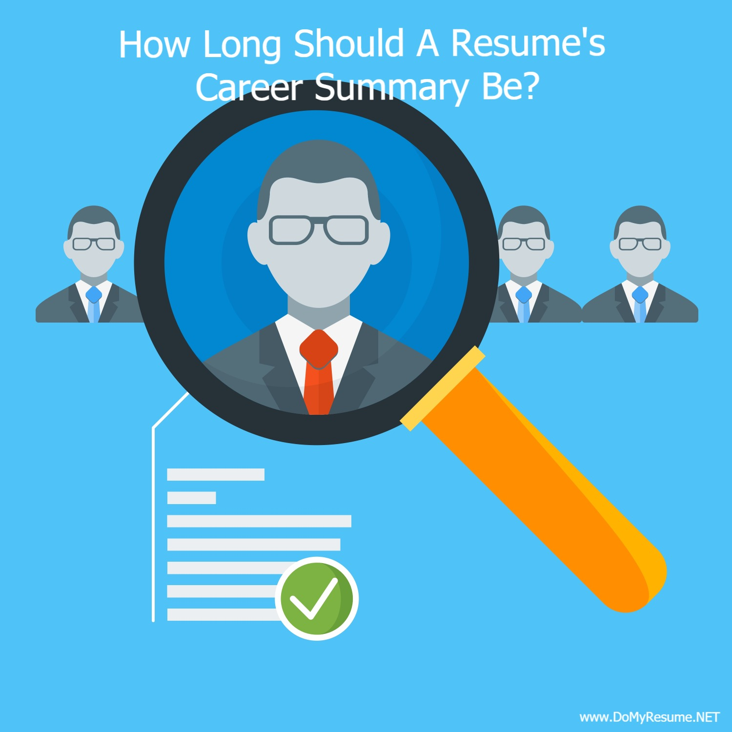 How Long Should The Career Summary On A Resume Be? | Ranked #1 ...