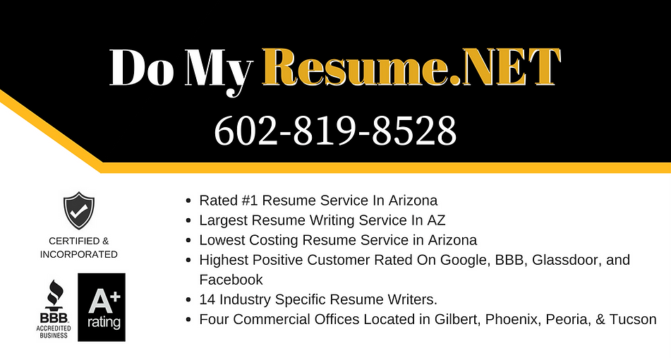 who is the best resume writing agency in arizona highest rated resume writing agency in - Resume Service Phoenix