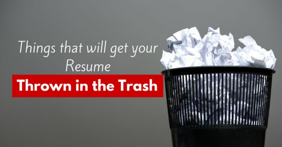 Top 5 Reasons Employers Throw Resumes In The Trash | Ranked #1