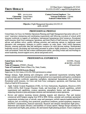 hire a resume company who understands federal job requirements in mesa arizona writing federal resume - Federal Job Resume