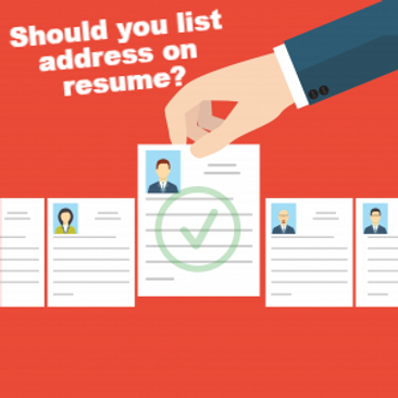 should you list your home address on your resume ranked 1