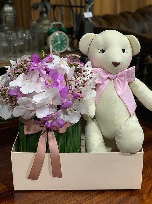KIT MATERNIDADE - CAKE FLOWER + URSINHO