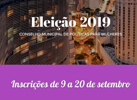 Eleições - Conselho de Política para Mulheres