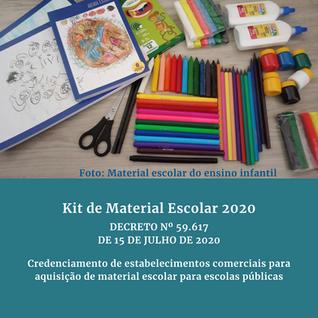 Kit Material Escolar: Parte 2