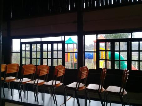 Visita à escola pública indigena