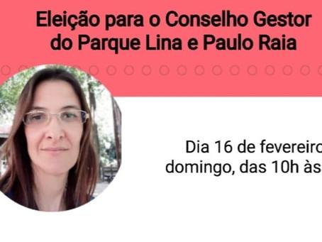 Vote na Marcia - Parque Lina e Paulo Raia