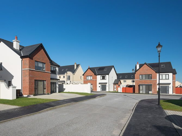 86 New build houses at Carrigaline, Co. Cork