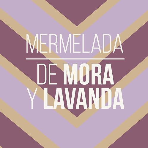 MERMELADA DE MORA Y LAVANDA