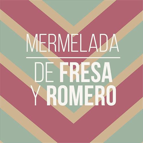 MERMELADA DE FRESA Y ROMERO