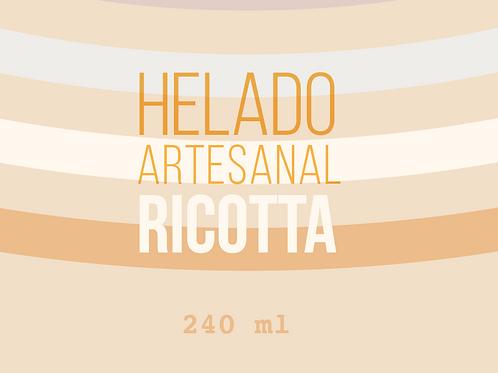 HELADO DE RICOTTA-240gr-