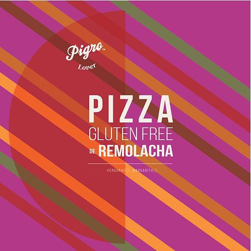 PIZZA PERSONAL DE REMOLACHA - GLUTEN FREE