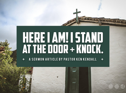 Knock, Knock – Who's There?   Rethinking Church In Kansas City