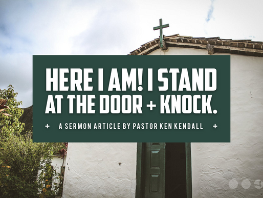 Knock, Knock – Who's There? | Rethinking Church In Kansas City