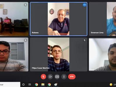 Incontro online con i novizi Stimmatini del Brasile