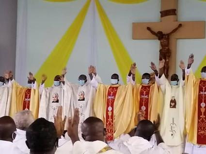 Ordinazione presbiterale in Costa d'Avorio