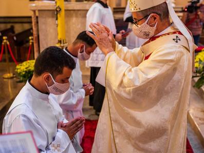 Ordinazione Diaconale di José Vítor e Waldivino Marques
