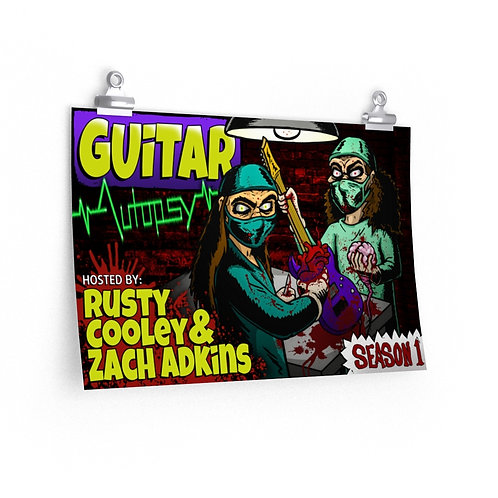 Guitar Autopsy Official Poster - 18'' x 12''