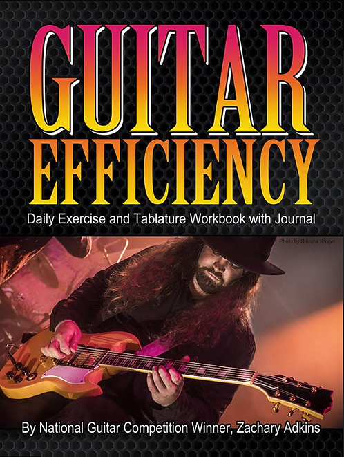 Guitar Efficiency - Daily Exercise and Tablature Workbook