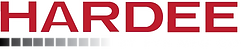 Hardee Logo (White Outlined) - Large (Tr