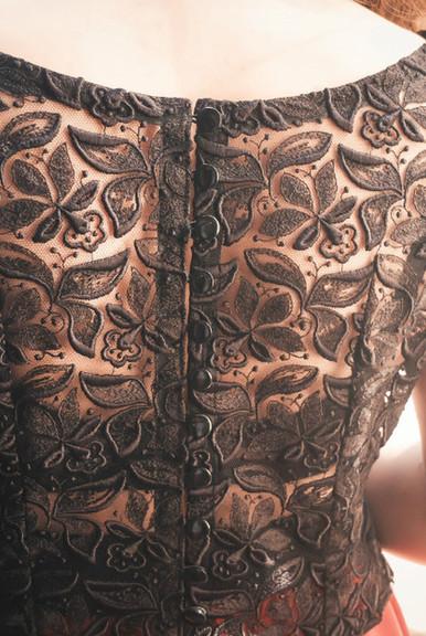 Rediscovered Granny's wedding dress