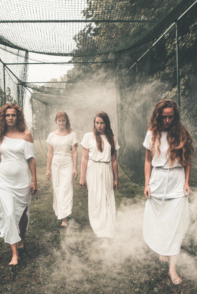 THERA Dress white