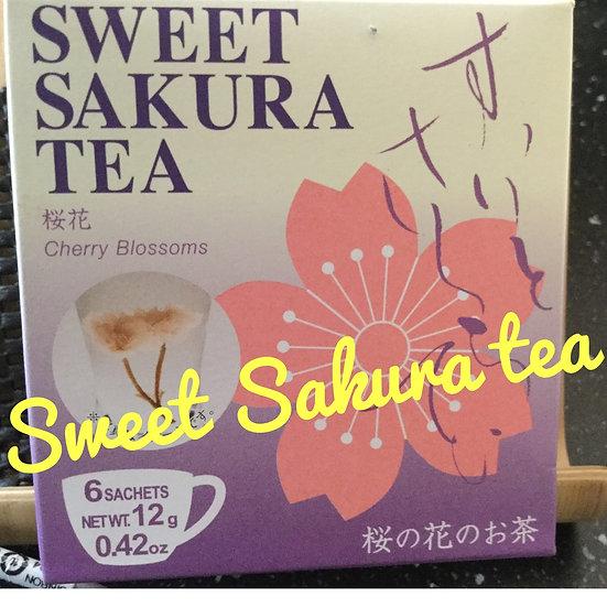 Sweet Sakura tea (Sakura flower tea)