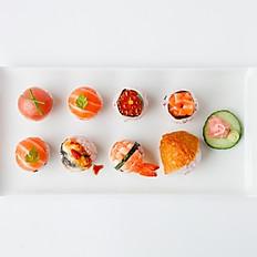 Temari (ball) sushi 8pieces