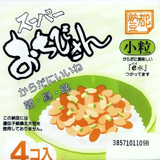 Natto Ochibisan small size 4 package