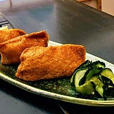 Inari sushi 3 pieces