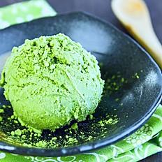 Home made green tea Matcha ice cream 1 ball