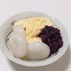 Mochi Zenzai with Ice cream
