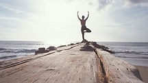 La meditación Beach