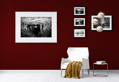 Framed artwork by photographer George Tatakis