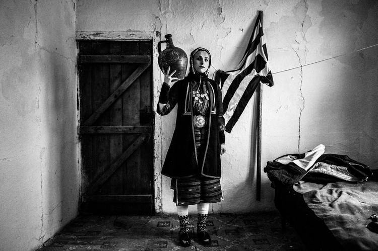 Costume of Volax, Drama, E. Macedonia, Greece