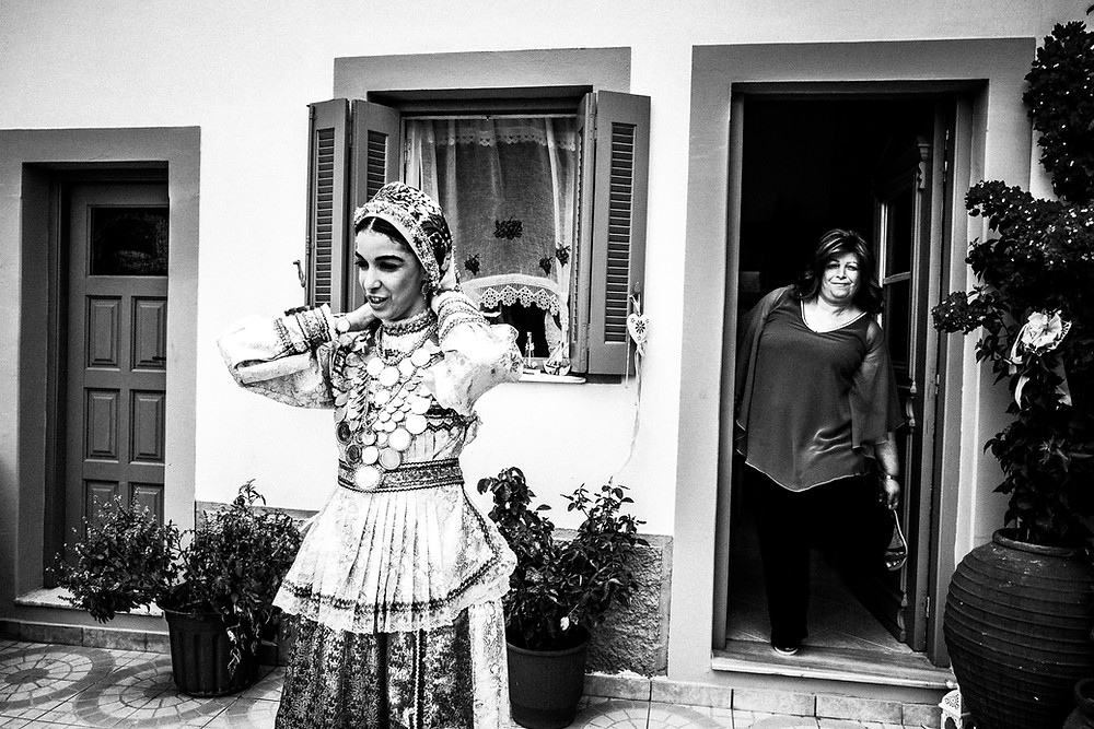 A traditional engagement in Olympos, Karpathos